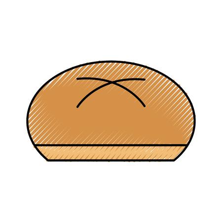 全体パンベーカリー製品食品フレッシュアイコン ilustration  イラスト・ベクター素材