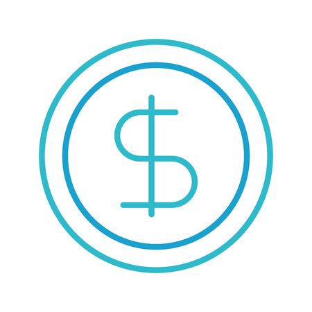 비즈니스 동전 돈 통화 은행 벡터 일러스트 레이션 스톡 콘텐츠 - 86319106