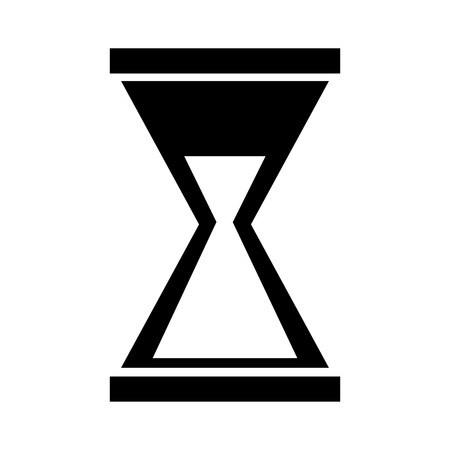 business hourglass time countdown hour vector illustration Ilustrace