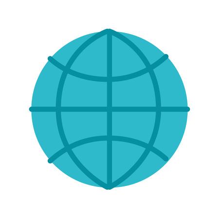 グローバル世界接続ビジネスワークネットワークベクトルイラスト