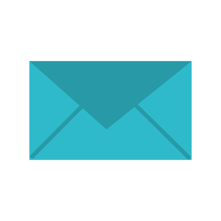 전자 메일 봉투 메시지 통신 닫기를 벡터 일러스트 레이션