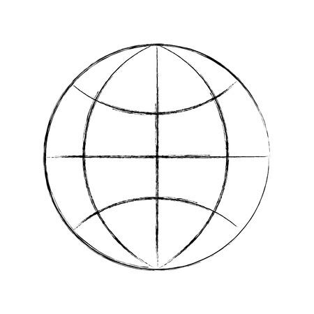 Mondial world connection travail d & # 39 ; affaires réseau illustration vectorielle Banque d'images - 86319220