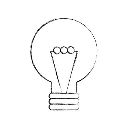 creativity idea bulb knowledge solution concept vector illustration Stock Vector - 86319239