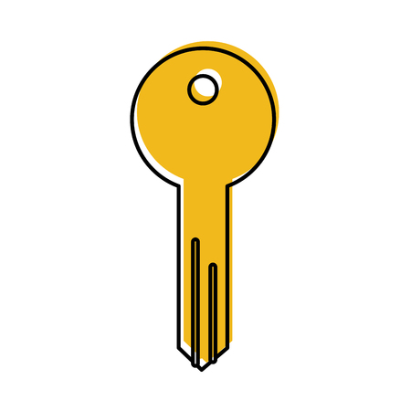 key access tool business button icon vector illustration