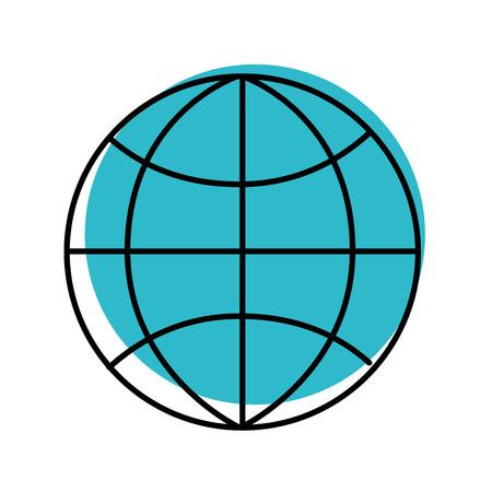 グローバル・ワールド・コネクション・ビジネス・ワーク・ネットワーク・ベクトルイラスト