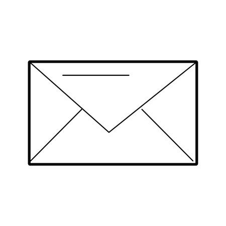 Illustrazione di vettore di comunicazione messaggio busta posta elettronica vicino Archivio Fotografico - 86319288