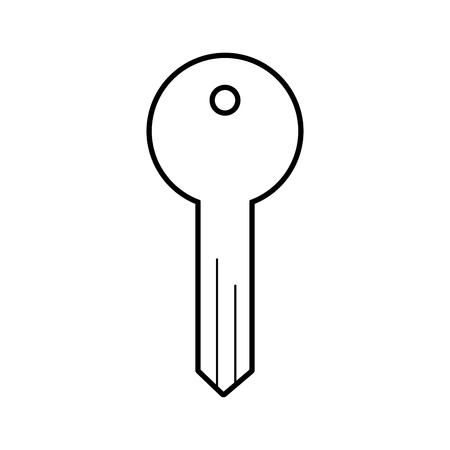 key access tool business button icon vector illustration Stock Vector - 86319315
