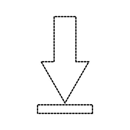 download arrow business direction information vector illustration Ilustrace