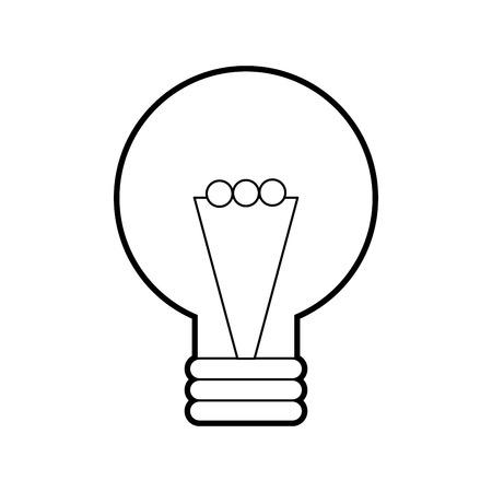 creativity idea bulb knowledge solution concept vector illustration Stock Vector - 86319395