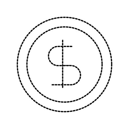 zakelijke munt geld currrency bankieren vector illustratie