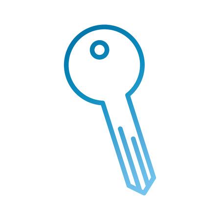 Llave de acceso de negocios botón de la herramienta icono ilustración vectorial Foto de archivo - 86383909