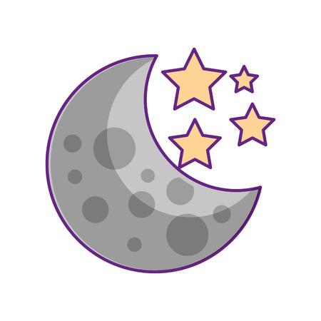 月星銀河天文学宇宙科学ベクトル図
