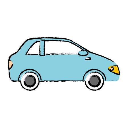Véhicule de voiture icône isolé illustration vectorielle conception Banque d'images - 86426701