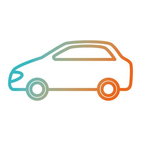 auto voertuig geïsoleerd pictogram vector illustratie ontwerp Stock Illustratie