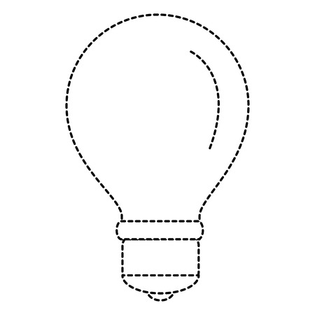 bulb light isolated icon vector illustration design Stock Vector - 86478805