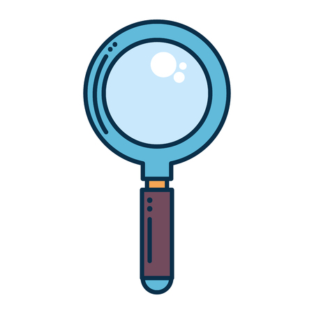 magnifying glass isolated icon vector illustration design Stok Fotoğraf - 86479097