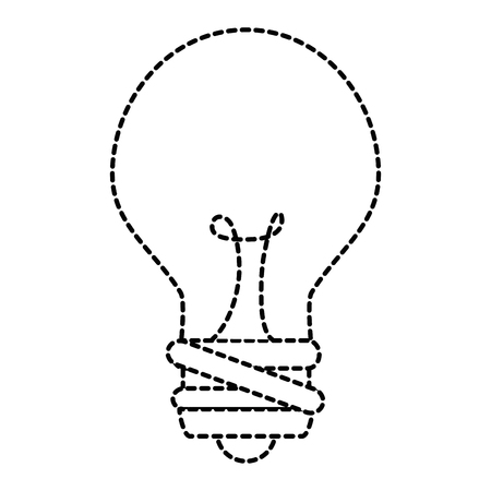 Bulb light isolated icon vector illustration design Stock Vector - 86529518