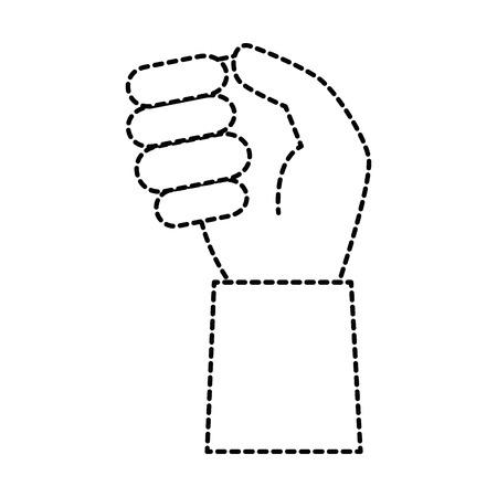 Menselijke hand vangen pictogram vector illustratie ontwerp Stockfoto - 86529521