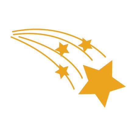 Astrologie ster heldere universum ruimte vectorillustratie.
