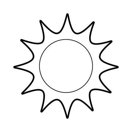 universe sun astronomy galaxy system solar vector illustration Ilustração