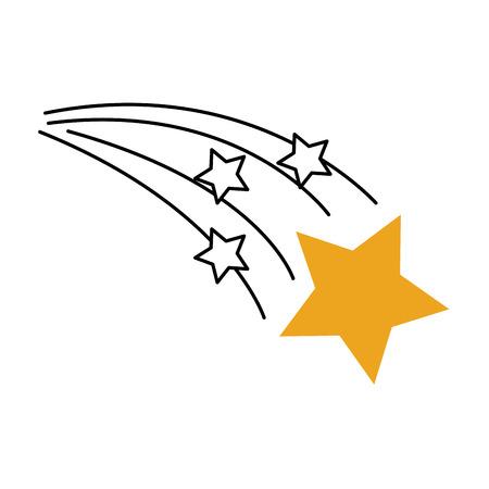 占星術星の明るい宇宙空間ベクトルイラスト