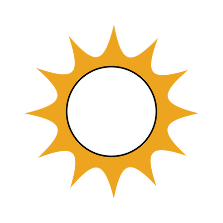 universe sun astronomy galaxy system solar vector illustration Çizim