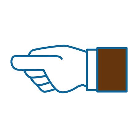 human hand catching icon vector illustration design Ilustração
