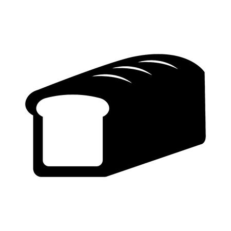 Cartoon pain de blé pain céréales céréales illustration vectorielle Banque d'images - 86490313
