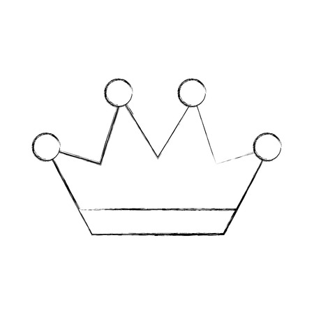 王冠ジュエリー高級ファンタジー貴重なベクトル図
