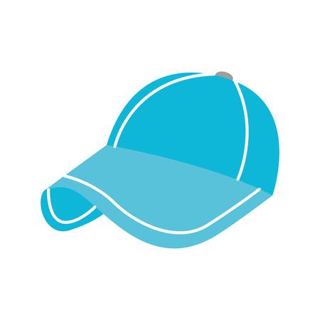 sport cap accessoire mode doek bescherming vector illustratie