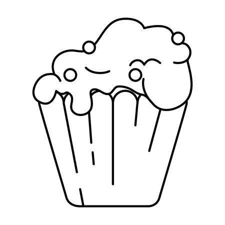 맛있는 먹고 절연 아이콘 벡터 일러스트 디자인