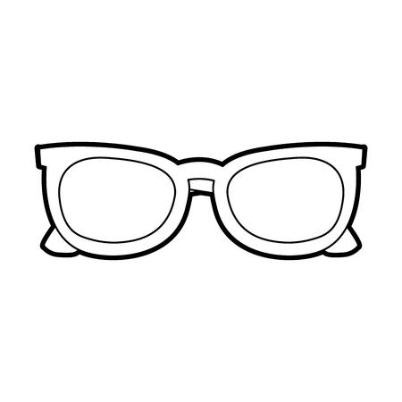선글라스 프레임 패션 유행 액세서리 벡터 일러스트 레이션