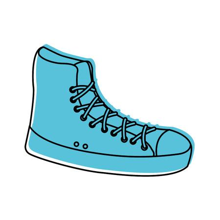 sneaker sport fashion trendy casual vector illustration Reklamní fotografie - 86490604