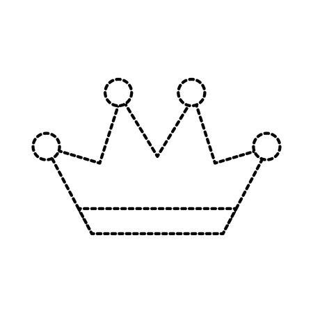 왕관 보석 럭셔리 판타지 소중한 벡터 일러스트 레이션