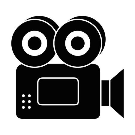 Caméra vidéo isolé icône illustration vectorielle conception Banque d'images - 86640642