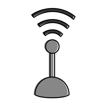 joystick control isolated icon vector illustration design Illustration