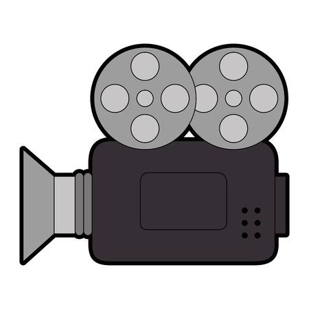 Caméra vidéo isolé icône illustration vectorielle conception Banque d'images - 86640717