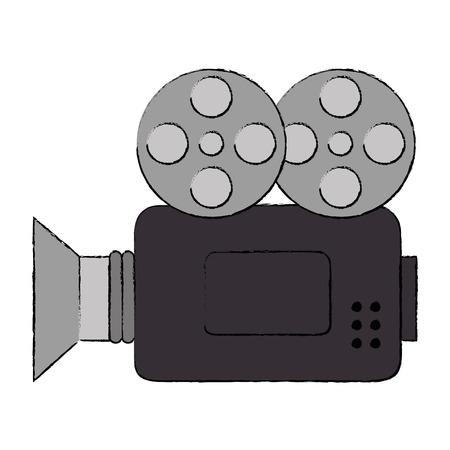 video camera isolated icon vector illustration design