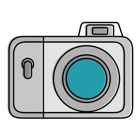 カメラ写真分離アイコン ベクトル イラスト デザイン  イラスト・ベクター素材
