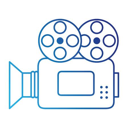Caméra vidéo isolé icône illustration vectorielle conception Banque d'images - 86640837