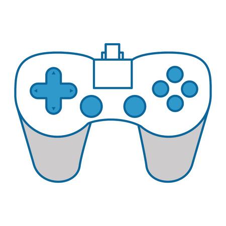 Control game isolated icon illustration design