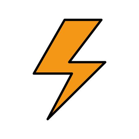 레이 전기 절연 아이콘 일러스트 레이션 디자인