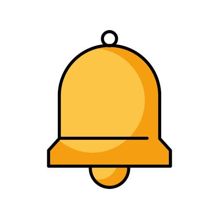 bell service assitance alarm support vector illustration
