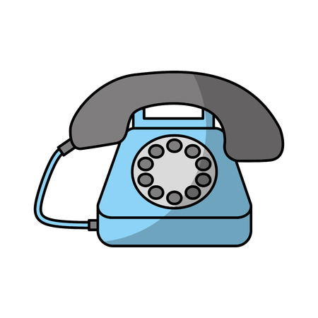 顧客サービス電話センター ベクトル図