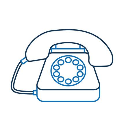 고객 서비스 전화 콜 센터 벡터 일러스트 레이션 스톡 콘텐츠 - 86641760