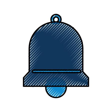 ベル サービス支援アラーム サポート ベクトル図  イラスト・ベクター素材