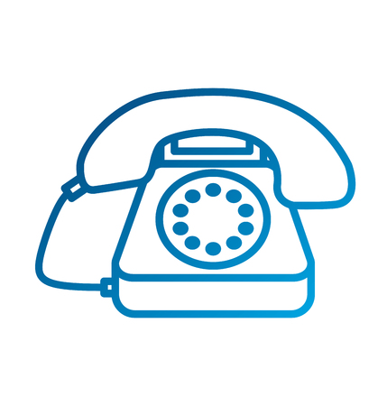 customer service telephone call center vector illustration Illusztráció