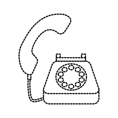 電話顧客サービス コール サポート ベクトル図