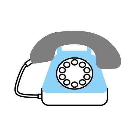 고객 서비스 전화 콜 센터 벡터 일러스트 레이션 스톡 콘텐츠 - 86641959