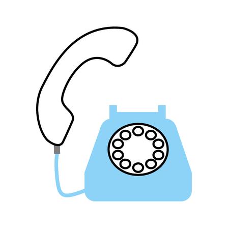 phone customer service call support vector illustration